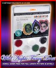 SNAZAROO SCARY CLAM PACK FACE PAINT THEME PACK